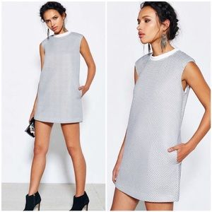 New Cameo Tribute Mesh Shift Party Dress w Pockets